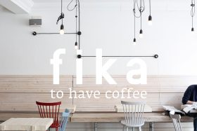 fika: to have coffee